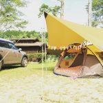 初キャンプは